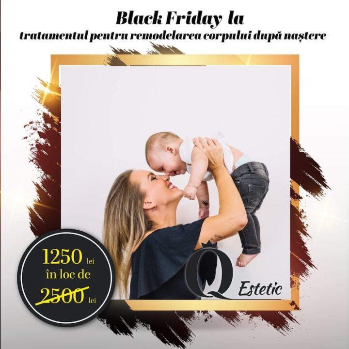1250 lei – tratamentul pentru remodelarea corpului după naștere