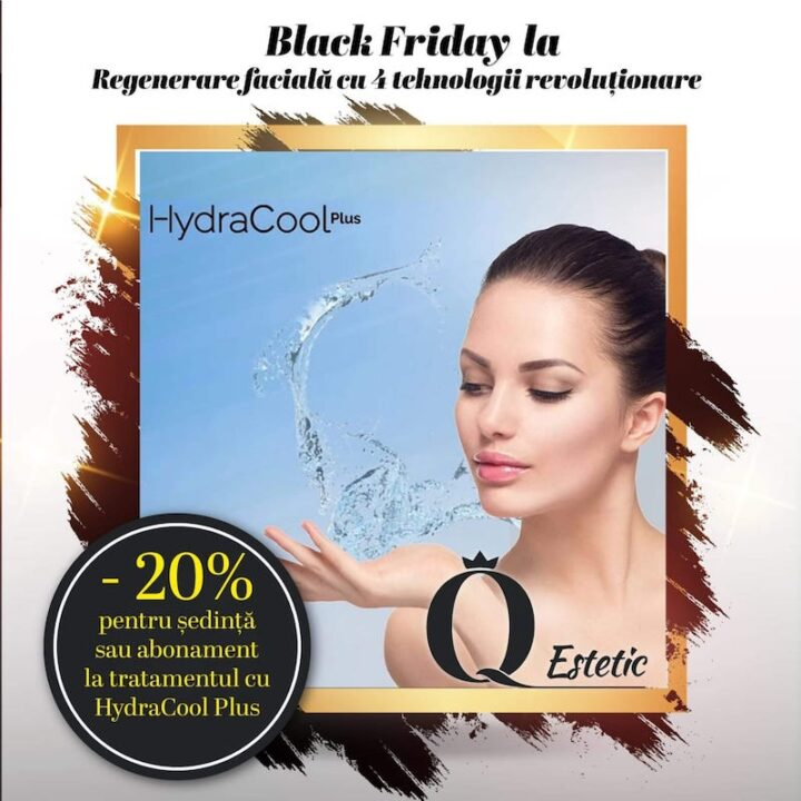 -20% pentru ședință sau abonament la tratamentul cu HydraCool Plus
